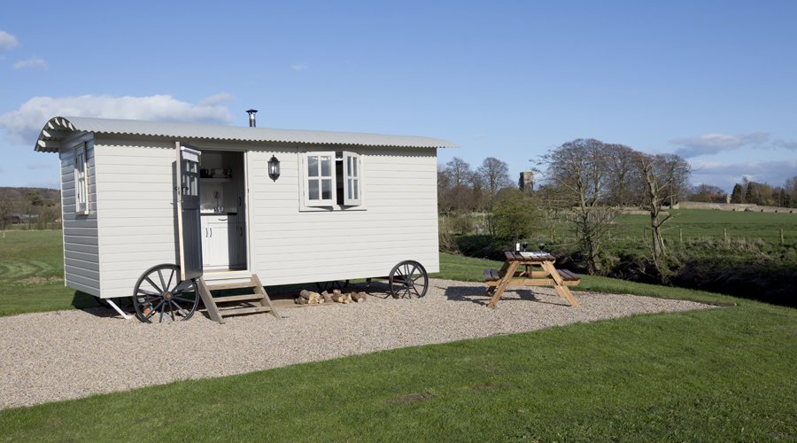 Shepherd Hut, Gilling West North Yorkshire